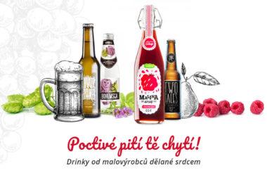 Mošty, limonády, šťávy a cidery. Češi si oblíbili nápoje od malých výrobců.