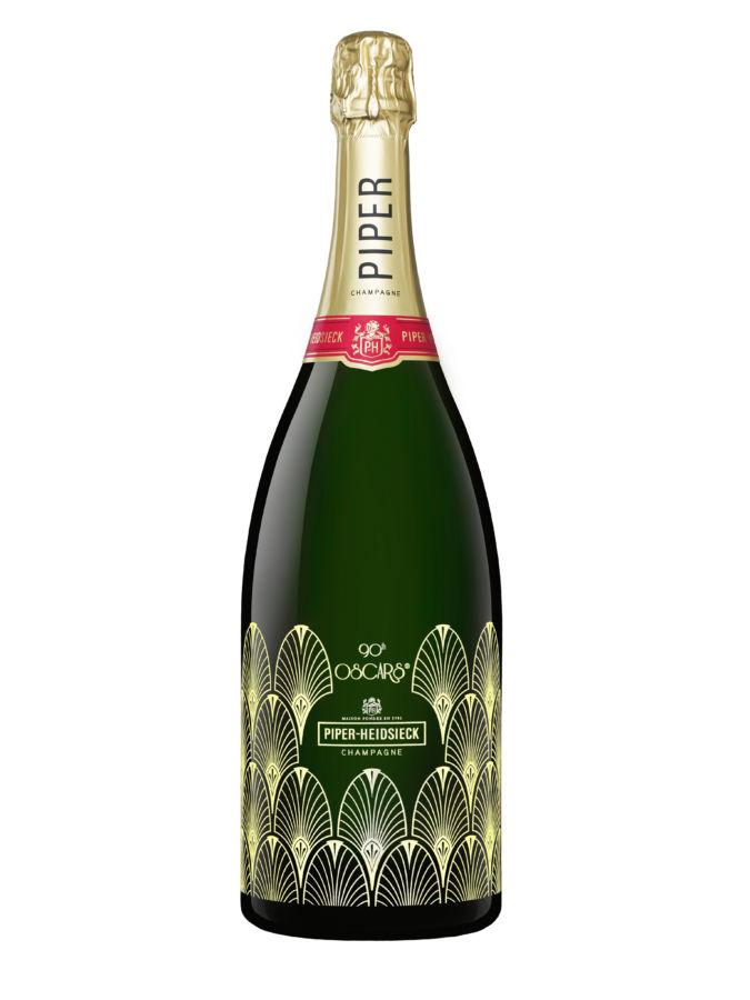 Šampaňské Piper-Heidsieck se vrací na 90. ročník udílení Oscarů
