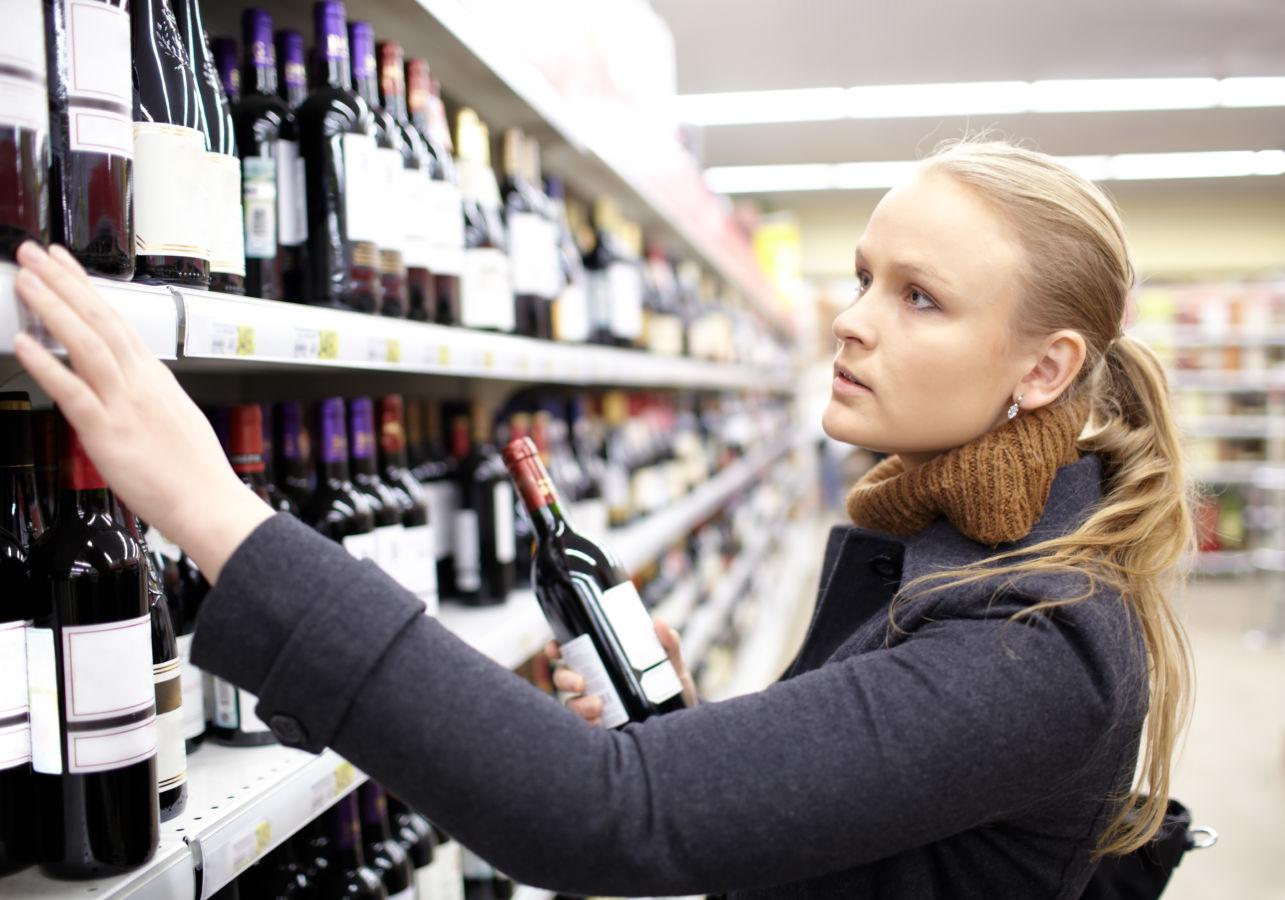Etiketa vína jako vizitka