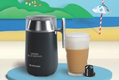 Nespresso představuje novinku letošního léta! A to víceúčelový robotický šlehač mléka Nespresso Barista