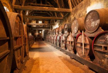 Calvados, štrúdl zabalený v lahvi