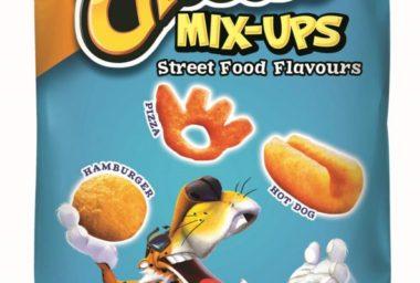 PepsiCo rozšiřuje nabídku svých křupek. Značka Cheetos přichází s balením třech různých příchutí a tvarů