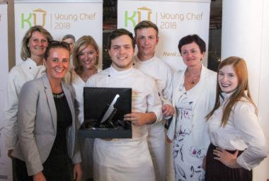 Hotelovka Poděbrady dvakrát zlatá v soutěži KU Young Chef 2018