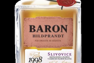 Baron připravil k 100. výročí republiky limitovanou edici slivovice z roku 1998