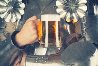 I ve středověku se vařilo pivo, jak dobré, tak špatné