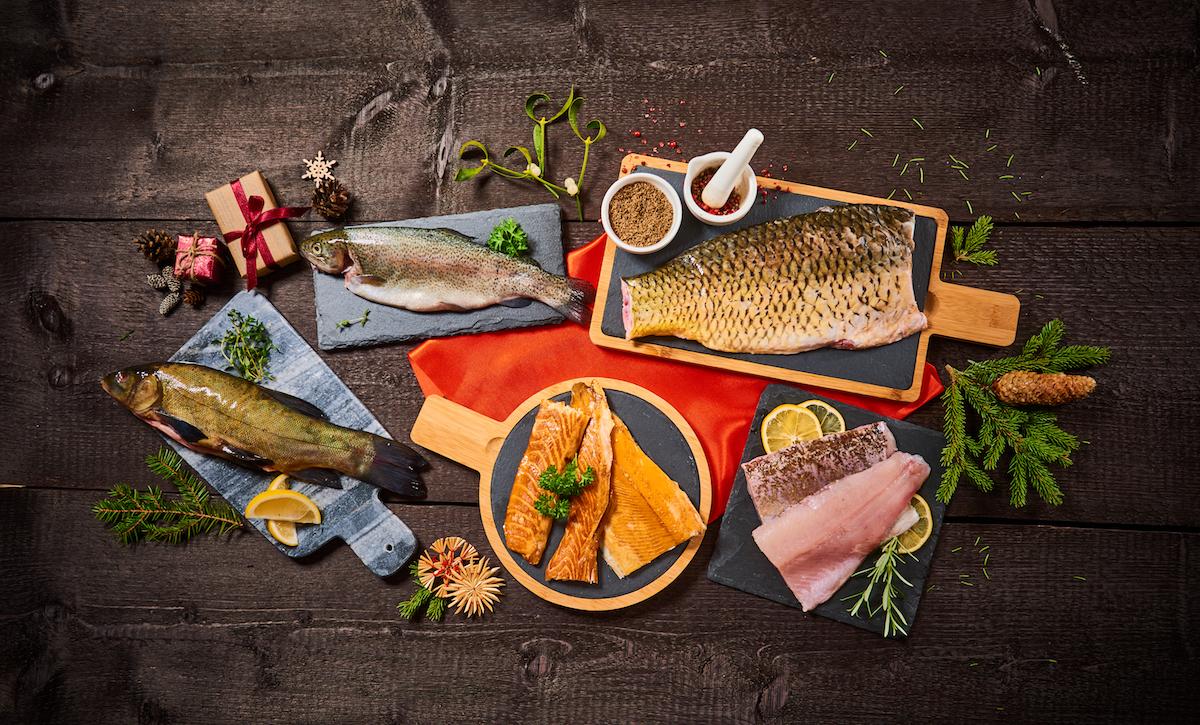 Kapr, losos, či něco úplně jiného?