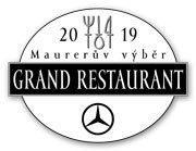 Vyhlášení TOP 10 restaurací podle Maurerova výběru Grand Restaurant 2019