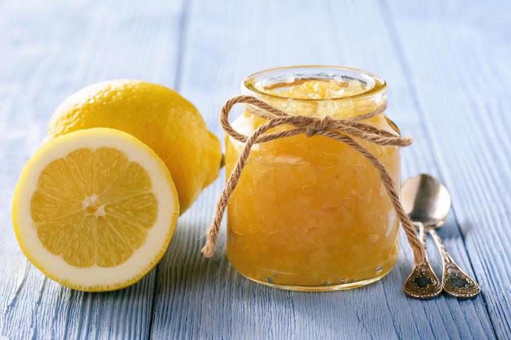 Citronová chia marmeláda