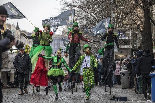 Tour svatého Patrika startuje již v sobotu dopoledne na smíchovské Náplavce