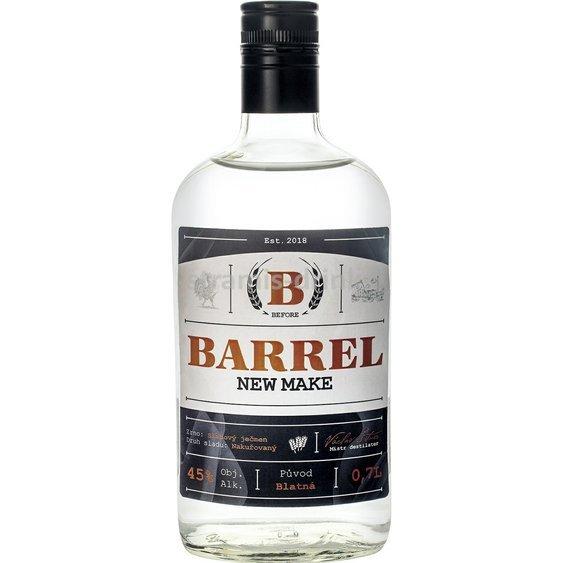 Vyzkoušejte nakouřený B. Barrel New Make z Blatné