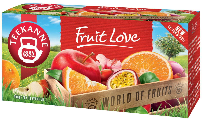 Nechte se unést ovocnou vášní s TEEKANNE Fruit Love