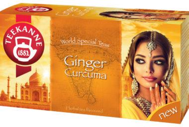 Exotické povzbuzení s čajem TEEKANNE Ginger & Curcuma