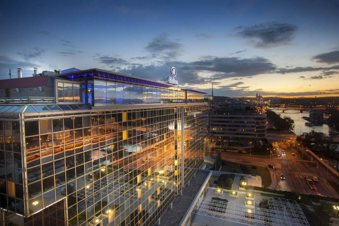 Hilton Prague jmenovám jako nejlepší hotel pro meetingy a konference v Evropě v rámci udílení ocenění Cvent