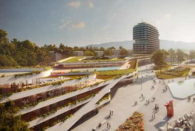 Čeští podnikatelé a architekti postaví v gruzínské Kobuleti na břehu Černého moře multifunkční zelené město