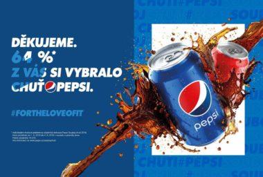 Pepsi děkuje Čechům. V televizní kampani uvidí i Pražský hrad
