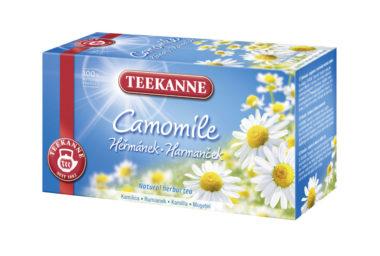 TEEKANNE Heřmánkový čaj, přírodní čajová radost pro zdraví