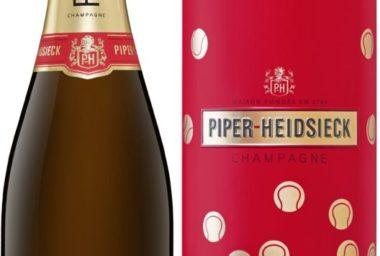 Champagne Piper-Heidsieck uzavřelo partnerství s Australian Open a představuje novou limitovanou tenisovou edici