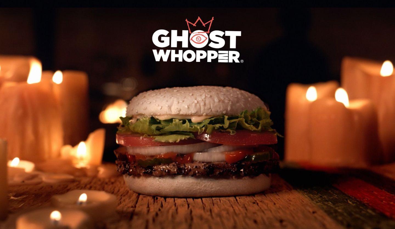 Halloweenský burger Ghost Whopper doporučuje deset duchů z deseti