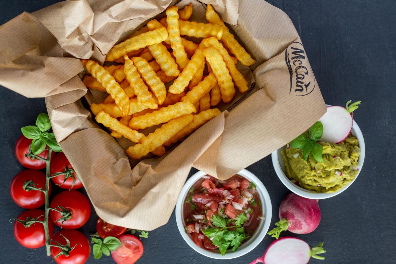 McCain hranolky 1.2.3 Fries – Chutné jídlo na každý den