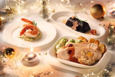 Společnost Emirates letos naservíruje 500 000 vánočních pokrmů
