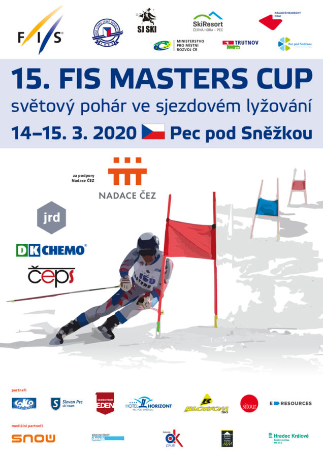 Světová reprezentace Masters lyžařů se vrací do Pece pod Sněžkou