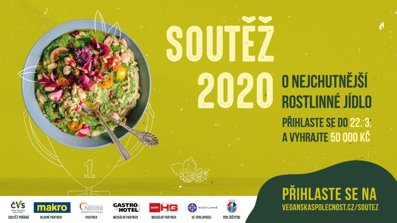 Vyhrajte 50.000 Kč v soutěži o nejchutnější rostlinné jídlo