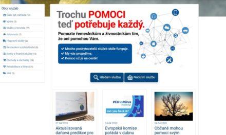 Nový portál stalezijeme.cz má pomoci živnostníkům a řemeslníkům vdobě pandemie nemoci COVID-19