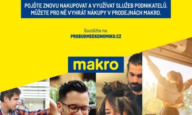 MAKRO chce pomoct probudit českou ekonomiku