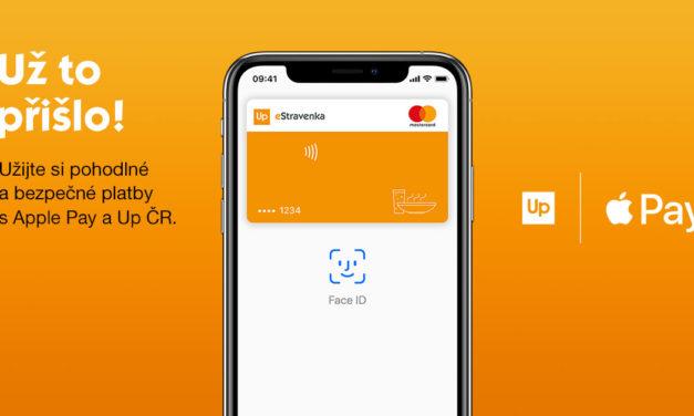 Up Česká republika spouští Apple Pay pro platby eStravenkou