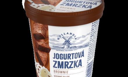 Jogurtová Zmrzka s novou chutí léta i oblíbeného čokoládového dezertu