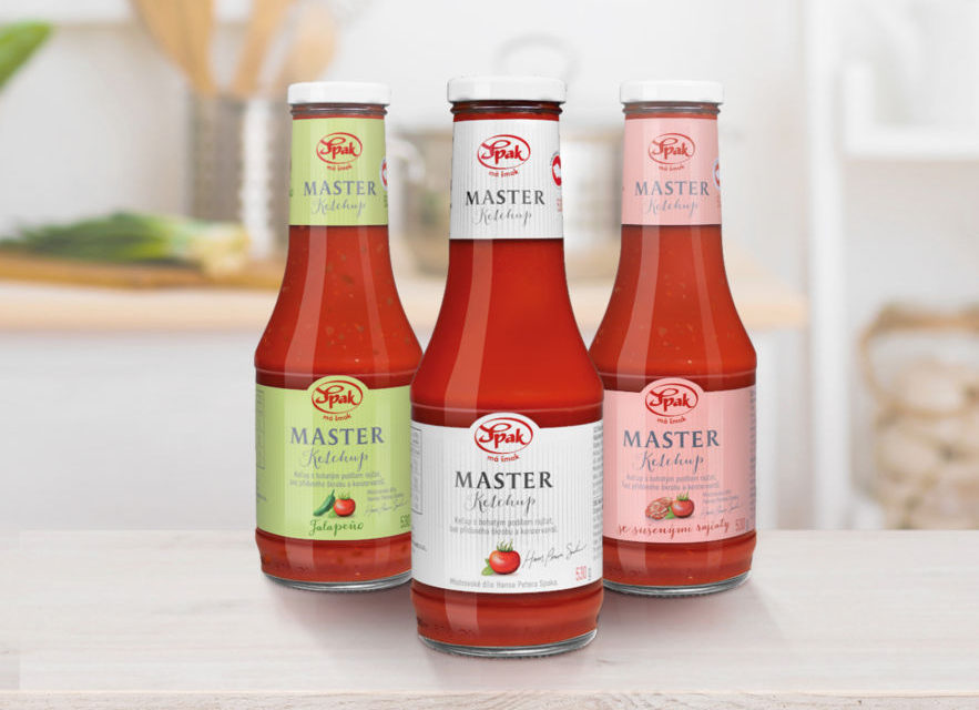 Originální a chutné recepty s ketchupy Spak Master