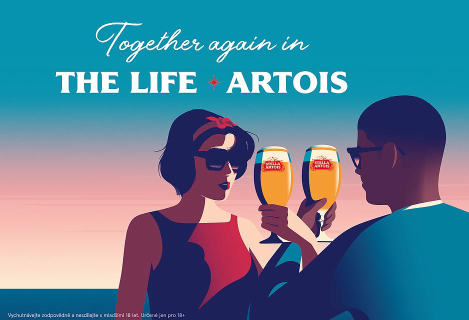 Stella Artois má nejvýraznější kampaň posledních let. Na trh uvede novou lahev