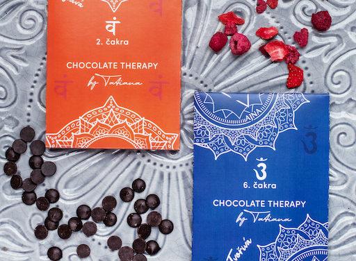 Chocolate Therapy by Tatiana – nová čokoládová řada ve znamení sedmi čaker