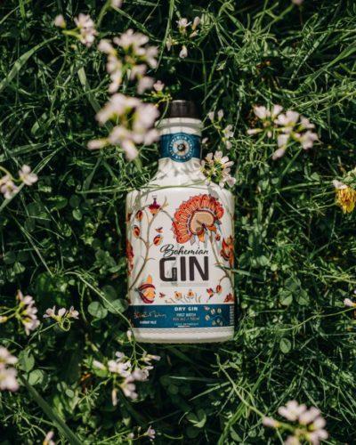 bohémský gin z české louky