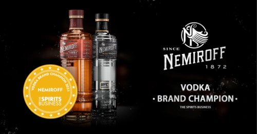 NEMIROFF - nejlepší vodka roku 2021
