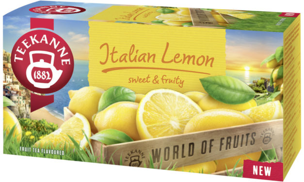 Objevte jemnost italského citronu s čajem TEEKANNE Italian Lemon